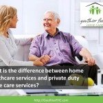 Video: Home Care Services Grand Rapids MI:  What is the difference between home healthcare services and private duty home care services?