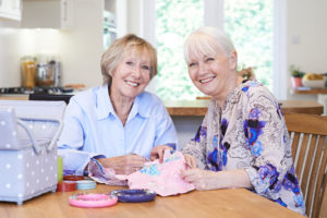 Elderly Care in Kentwood MI: Making a Family Quilt
